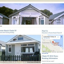 web design for Thornbury Holiday Chalet