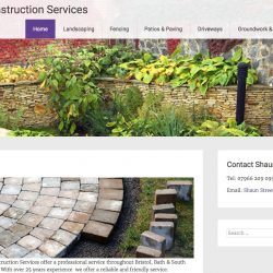 Web design for Yate, landscape gardener